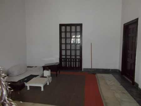 Mahatma Gandhi's bedroom as he left it on the day he died.